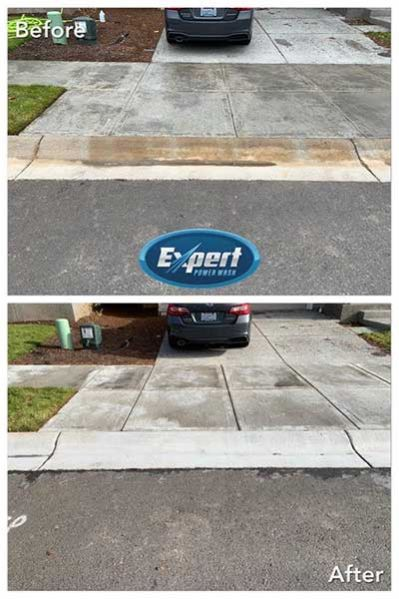 portland concrete cleaning pressure washing