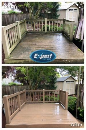 portland oregon deck cleaning service